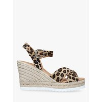 shop for Carvela Koy Woven Wedge Leather Sandals at Shopo