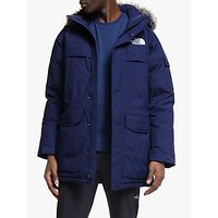 The North Face McMurdo Mens Waterproof Jacket, Montague Blue