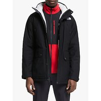 The North Face Katavi Trench Mens Insulated Jacket, TNF Black