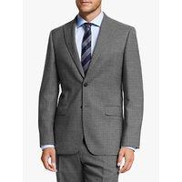 shop for John Lewis & Partners Wool Crosshatch Regular Fit Suit Jacket, Grey at Shopo