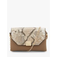 Dune Esterr Chain Strap Handbag, Grey/Multi