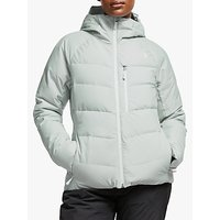 The North Face Heavenly Down Women's Waterproof Ski Jacket, High Rise Grey