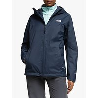 The North Face Quest 3-in-1 Womens Waterproof Jacket, Urban Navy/Windmill Blue