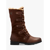 Sorel Emelie Lace Up Boots, Tabacco