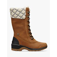 Sorel Whistler Tall 2 Lace Up Snow Boots, Camel Brown