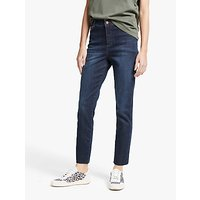 shop for AND/OR Sierra High Rise Straight Jeans, Azurite at Shopo