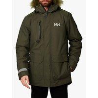 Helly Hansen Svalbard Mens Waterproof Parka Jacket, Beluga