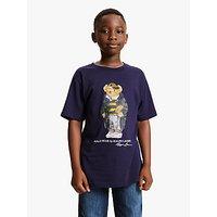 Polo Ralph Lauren Boys Bear T-Shirt, Navy