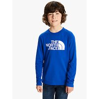 The North Face Boys Long Sleeve Logo T-Shirt