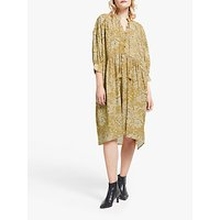 And/or Gina Santiago Floral Print Dress, Yellow