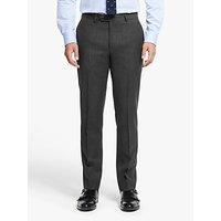 Hackett London Chelsea Tailored Fit Suit Trousers, Dark Grey