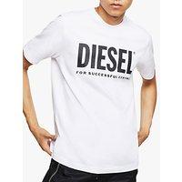 Diesel T-Just Logo T-Shirt, White