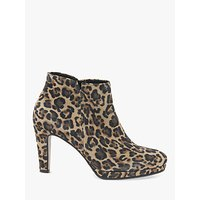 shop for Gabor Orla Stiletto Heel Suede Shoe Boots , Multi at Shopo