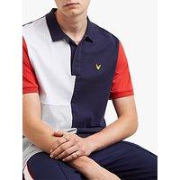 Lyle & Scott Colour Block Polo Shirt