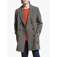 Wax London RoS Overcoat, Tiff Houndstooth