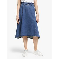 Gestuz Serale Denim Skirt, Blue