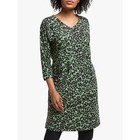 Masai Copenhagen Gizina Tunic Top, Black/Sea Spray