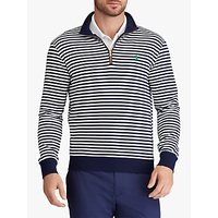 Polo Golf by Ralph Lauren Slim Fit French Terry Sweatshirt, French Navy/White