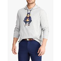 Polo Golf by Ralph Lauren x Justin Thomas Jersey Hooded Top, Light Grey Heather