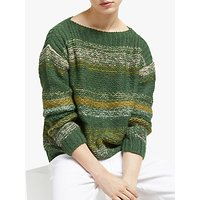 Numph Charlie Stripe Jumper, Green