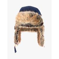 Barbour National Trust Faux Fur Lined Trapper Hat