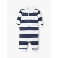 Polo Ralph Lauren Baby Rugby Bodysuit, Navy/White