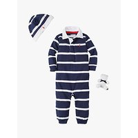 Polo Ralph Lauren Baby Rugby Coverall Outfit Set, Navy
