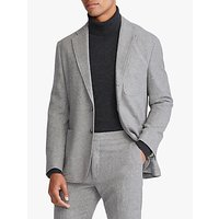 Polo Ralph Lauren Wool Blend Tweed Blazer, Light Grey