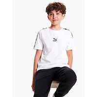 PUMA Boys Logo XTG T-Shirt, White