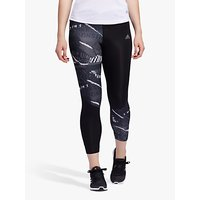 shop for adidas Own The Run City Clash Cropped Running Tights, Grey Three/Grey Six/Black at Shopo