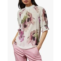 Ted Baker Cayliee Top, Natural Ivory