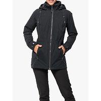 Jack Wolfskin Narita Womens Waterproof Jacket, Phantom