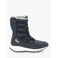 Jack Wolfskin Nevada Texapore Womens Waterproof Winter Boots, Dark Blue/Off White