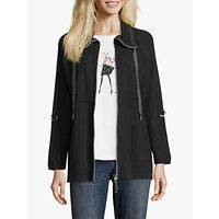 Betty Barclay Funnel Neck Cardigan, Black