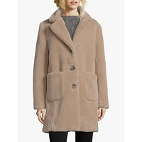 shop for Betty Barclay Faux Sheepskin Coat, Almondine at Shopo
