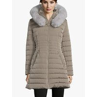 shop for Betty Barclay Quilted Hooded Coat at Shopo