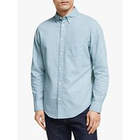 shop for John Lewis & Partners Garment Dye Regular Fit Oxford Shirt at Shopo