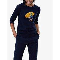 Joules Miranda Duck Crew Neck Jumper, Navy