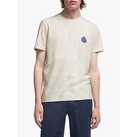 Its All Good Folk Leaf Print GOTS Organic Cotton T-Shirt