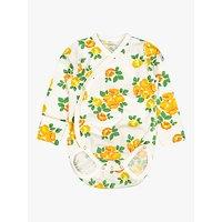 Polarn O. Pyret Baby GOTS Organic Cotton Floral Bodysuit