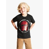 Star Wars Boys Reversible Sequin Stormtrooper T-Shirt, Black