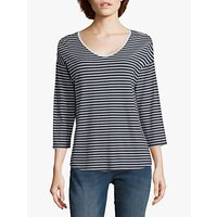shop for Betty & Co. Striped Top, Navy/White at Shopo
