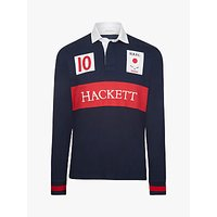 Hackett London Japan Cotton Rugby Shirt
