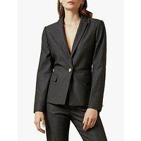 Ted Baker Neolaa Jacquard Suit Jacket, Black
