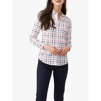 Pure Collection Cotton Spot Print Shirt, Multi