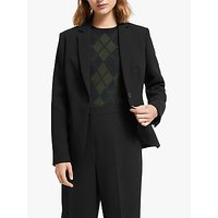John Lewis and Partners Tailored Blazer, Black