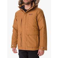 Columbia Marquam Peak Men's Waterproof Jacket, Camel Brown