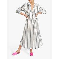 shop for NRBY Chrissie Shirt Dress, Black/White at Shopo
