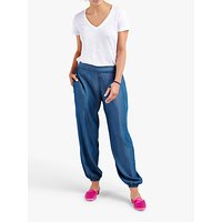 NRBY Madison Harem Trousers, Denim Blue