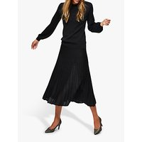 Selected Femme Zambra Midi Skirt, Black